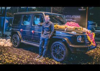 Orissa Based Youtuber Soamjena Received A Grand Delivery Of Mercedes G350D