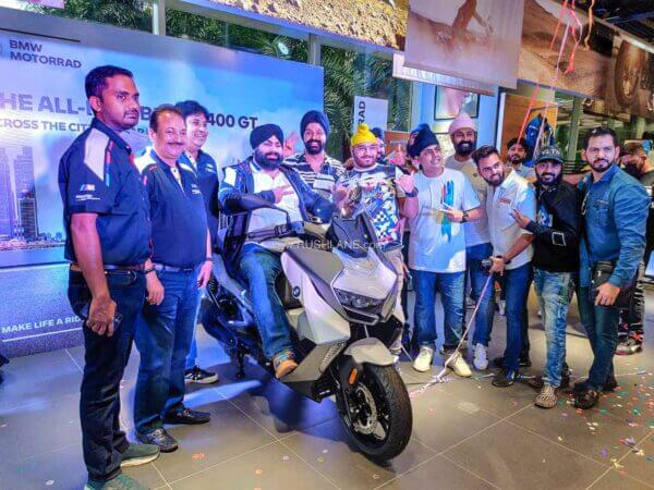 BMW C400GT first owner in India 2021